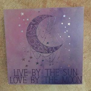 Other - Wooden wall art sun / Moon